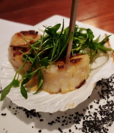 Happy Hour Scallops